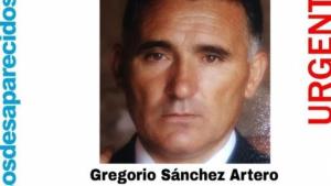 Aviso de búsqueda de Gregorio Sánchez
