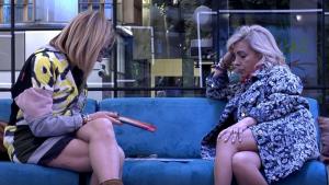 Belén Rodríguez y Carmen Borrego en 'Sálvame Okupa'