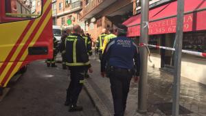 Bomberos y Policía Municipal han acudido al lugar