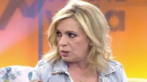 Carmen Borrego está decepcionada con Jorge Javier