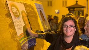 Clara Solivellas s'estrena com a cap de llista d'Alternativa Baix Gaià a Torredembarra.