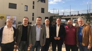 Col·lectiu Ribera d'Ebre 2030 amb Artur Mas