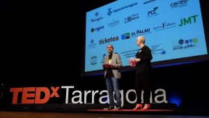 Conferència TEDx a Tarragona, tercera edició 2017.