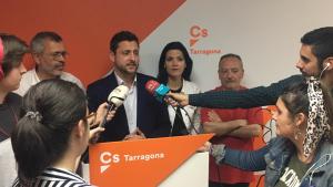 Cs, formació liderada a Tarragona per Rubén Viñuales, ha aconseguit els mateixos resultats que l'any 2015 amb quatre regidors.
