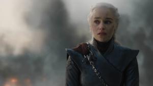 Daenerys en el quinto capítulo de la octava temporada.