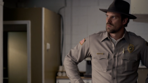 David Harbour habla de la temporada 3 de Stranger Things.