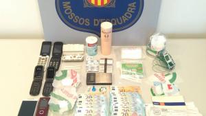 Desmantellament dels Mossos d'Esquadra a un punt de venda de drogues al Baix Ebre
