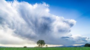 Después de una mañana nubosa y lluviosa en puntos de la mitad norte, el sol y el calor barrerán la inestabilidad
