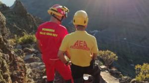 DIversos equipos de emergencias llevaban horas buscándolo por la zona