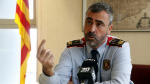 El cap de la regió policial Camp de Tarragona dels Mossos d'Esquadra, l'intendent Ramon Chacón