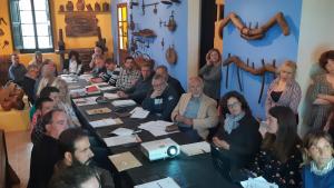 El darrer Consell d'Alcaldes de l'Alt Camp de la legislaktura es va desenvolupar a la Pinacoteca de Vilabella