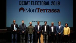El debat electoral de Món Terrassa amb els candidats a l'alcaldia