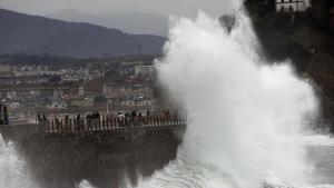 El enésimo temporal de lluvias, viento y fenómenos costeros está afectando duramente Galicia