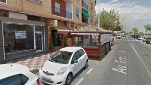 El local a on s'ubica el quiosc en l'actualitat en l'Av. Font de Mora de Puçol