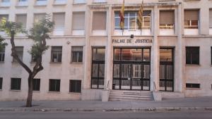 El Palau de Justícia de Tarragona se sotmetrà a una rehabilitació per consolidar l'estructura de l'edifici.