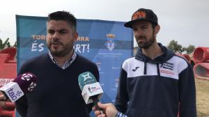 El regidor d'Esport, Raúl García, i el president del Club Bike Trial Costa Daurada Torredembarra, Àngel Batlle, han comparegut aquest dimecres al matí.