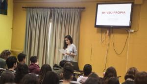 Els alumnes van exposar els seus treballs de recerca al Fòrum TRiCS