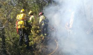 Els Bombers han donat per controlat l'incendi aquest dijous al matí, a les 06.38 hores