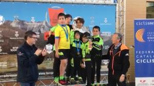 Els campions de Catalunya de l'Escola de Ciclisme del Vallès