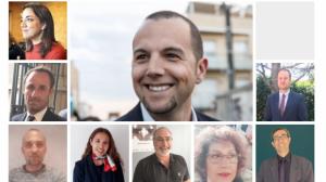 Els deu primers candidats del PP Terrassa