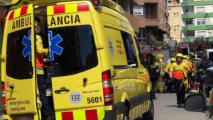 Els dos treballadors ferits han estat traslladats a l'Hospital Josep Trueta de Girona