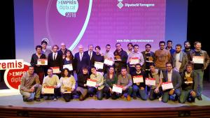 Els premis Emprèn del 2018 van guardonar diversos joves emprenedors de la demarcació