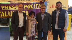 Els quatre regidors actuals d'ERC repetiran al capdamunt de la candidatura.