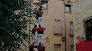 Els Torraires de Montblanc van estrenar el 3de7 a la diada de la Serra