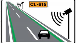 Es vol aconseguir que el conductor associï aquesta identificació amb trams de carretera de velocitat controlada