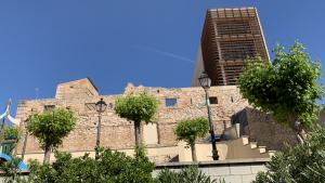 Exterior del castell de Vallmoll.