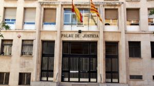 Façana de l'Audiència de Tarragona.