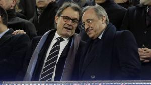 Florentino i Artur Mas han estat dos de les cares conegudes que han assistit a la boda