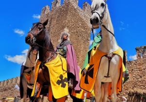 Fotografia que ha rebut el primer premi de la categoria Setmana Medieval