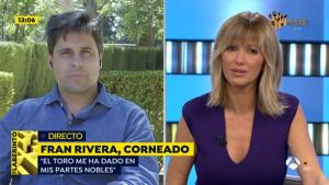 Fran Rivera entró en directo para contar cómo se encuentra