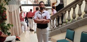 Gorka Bertran és el nou cap de colla de la Colla Jove Xiquets de Tarragona