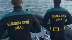 Grupo Especial de Actividades Subacuáticas, GEAS de la Guardia Civil