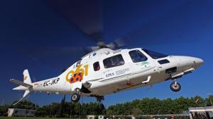 Imagen de archivo de un helicóptero de EPES