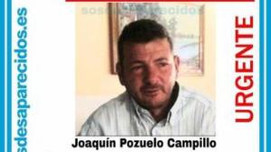 Imagen de Joaquín Pozuelo, desaparecido en El Palmar