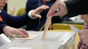 Imagen de las elecciones de este domingo.