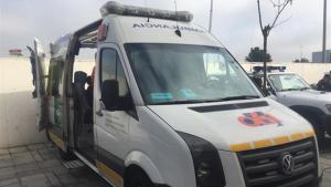 Imagen de una ambulancia del 061 de Andalucía