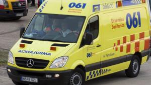 Imagen de una ambulancia del 061 de Galicia