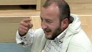 Imagen de Yusuf Galán durante el juicio realizado sobre su causa