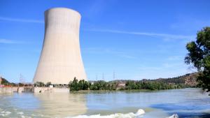 Imatge d'arxiu de la central nuclear d'Ascó.