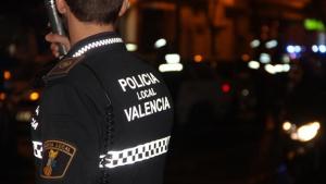 Imatge d'arxiu de la Policia Local de València