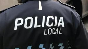 Imatge d'arxiu d'un policia local