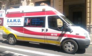 Imatge d'arxiu d'un Servei d'Ajuda Mèdica d'Urgència