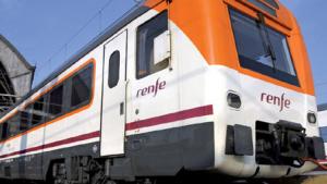 Imatge d'arxiu d'un tren de Mitja Distància de Renfe.