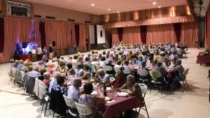 Imatge de la trobada de la gent gran 2018