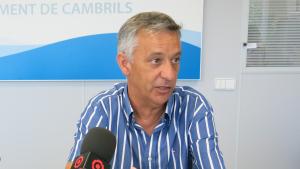 Imatge de l'exregidor d'Hisenda de l'Ajuntament de Cambrils Ramon Llobet