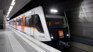 Imatge d'un tren de Ferrocarrils de la Generalitat